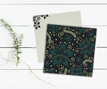 Floral Theme Wedding Invitations - IndianWeddingCards