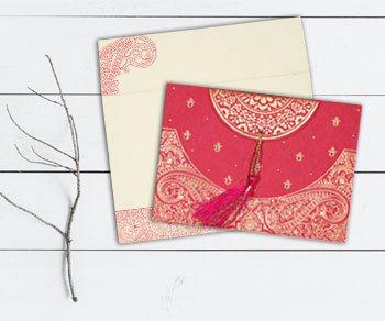 Traditional Wedding Invitations - IndianWeddingCards