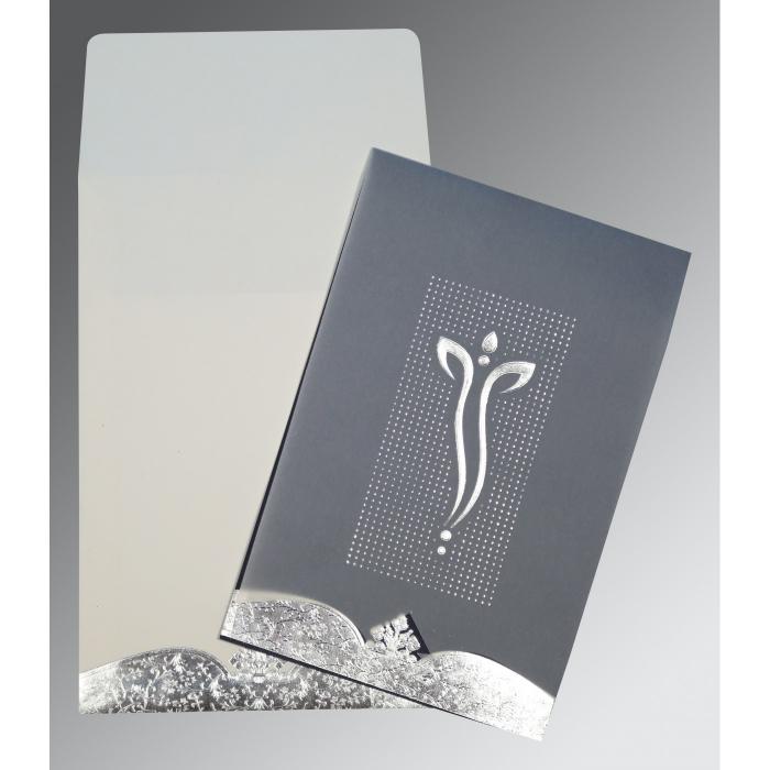 Ivory Foil Embossed Wedding Invitation : CIN-2279 - IndianWeddingCards