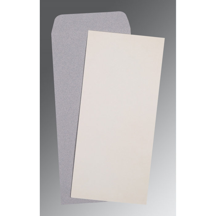 Carlton Cards Wedding Invitations: OFF-WHITE MATTE WEDDING INVITATION : CP-0036