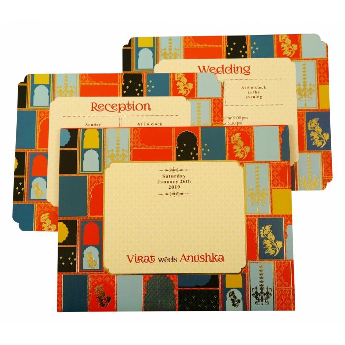 Wedding Invitation : CD-1880 - IndianWeddingCards
