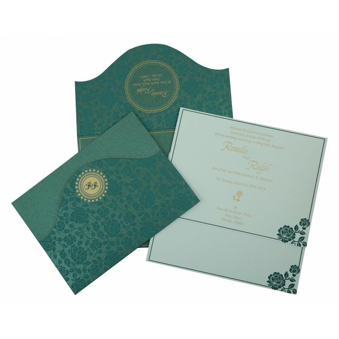Wedding Invitation : CD-802C - IndianWeddingCards
