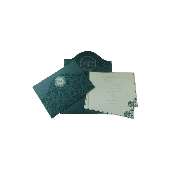 Wedding Invitation : CD-802D - IndianWeddingCards