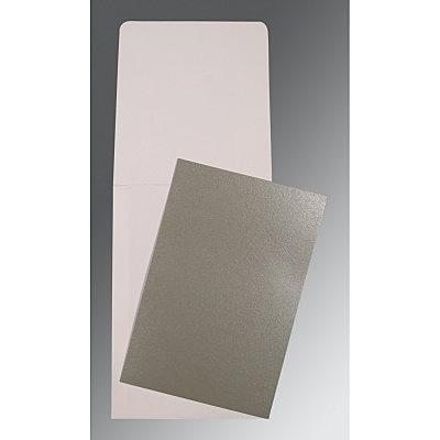 Black Glossy Wedding Card : CP-0006