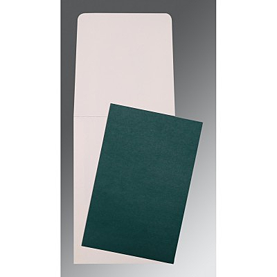Green Glossy Wedding Card : CP-0005