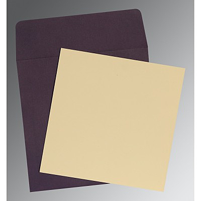 Ivory Matte Wedding Card : CP-0001