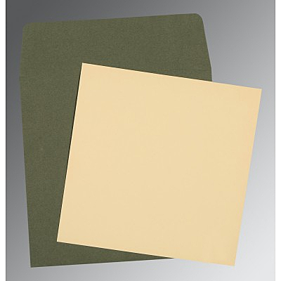 Ivory Matte Wedding Card : CP-0004