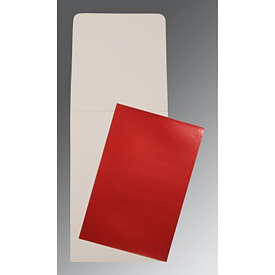 Red Glossy Wedding Card : CP-0007