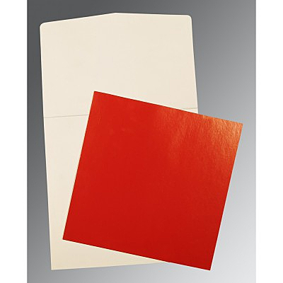 Red Glossy Wedding Card : CP-0018