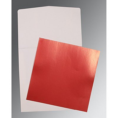 Red Glossy Wedding Card : CP-0020