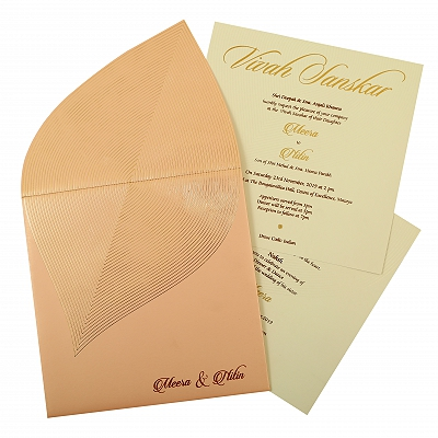 Unique Themed - Wedding Invitation : CI-1859 - IndianWeddingCards