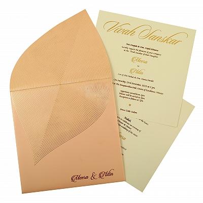 Unique Themed - Wedding Invitation : CW-1859 - IndianWeddingCards