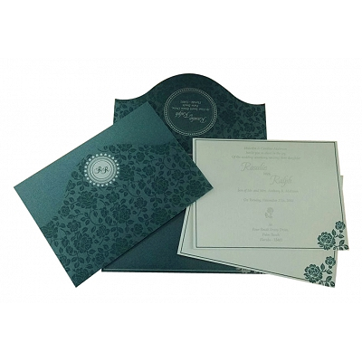 Wedding Invitation : CC-802D - IndianWeddingCards