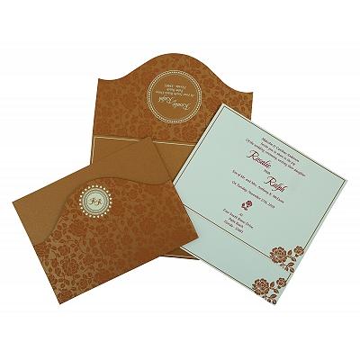 Wedding Invitation : CS-802E - IndianWeddingCards
