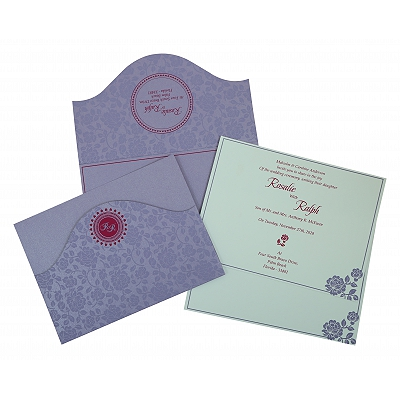 Wedding Invitation : CW-802B - IndianWeddingCards